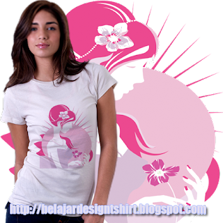 belajar design t-shirt | INNOCENT GIRL T-SHIRT DESIGN