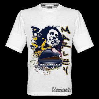 belajar design t-shirt | MARLEY SPIRIT T-SHIRT DESIGN