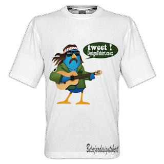 Belajar design t-shirt | Tweet me t-shirt design