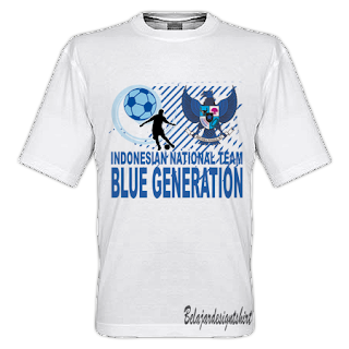 Iskaruji dot com | Blue generation timnas t-shirt