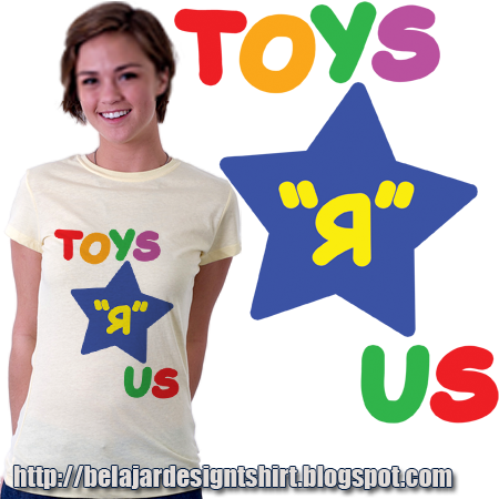 Download Koleksi Psd Desain Kaos Toys Us T Shirt Design