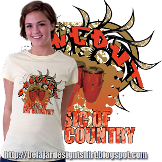 Belajar design t-shirt | DANGDUT MUSIC GENRE T-SHIRT