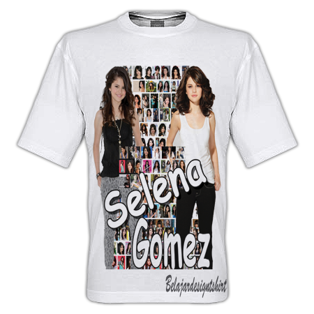 SELENA GOMEZ FEATURE T-SHIRT