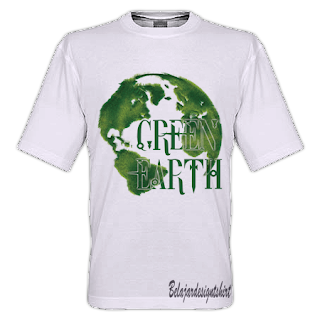 GREEN EARTH T-SHIRT DESIGN