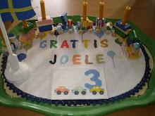 JOELE FYLLDE 3 ÅR DEN 10-10-2010