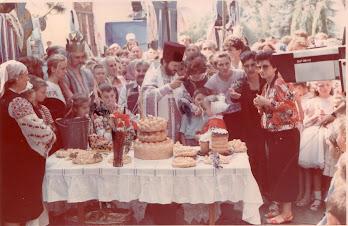 Sărbătoarea Limba Noastră, or. Edineţ, anul 1990