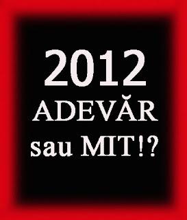 Dezvăluiri despre anul 2012
