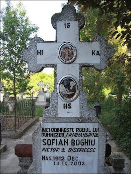 Mormântul Părintelui Sofian Boghiu