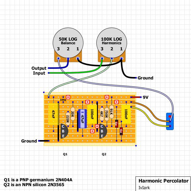 npn fuzz schematic tremolo schematic