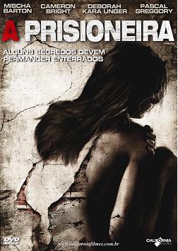 Filme Poster A Prisioneira DVDRip Rmvb Dublado