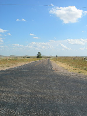 Texas highway 48 Cast Away crossroads