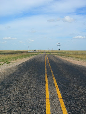 Texas highway 1268 Cast Away crossroads
