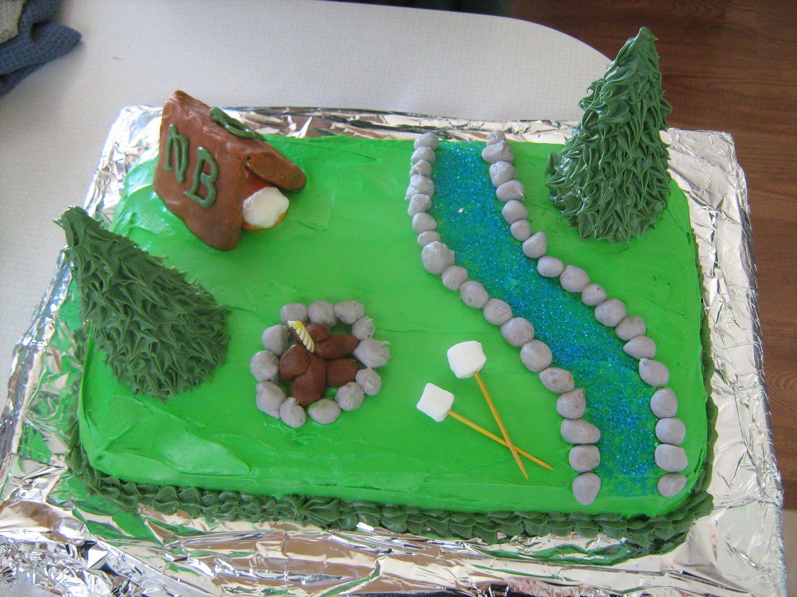 Marble Run Birthday Cake