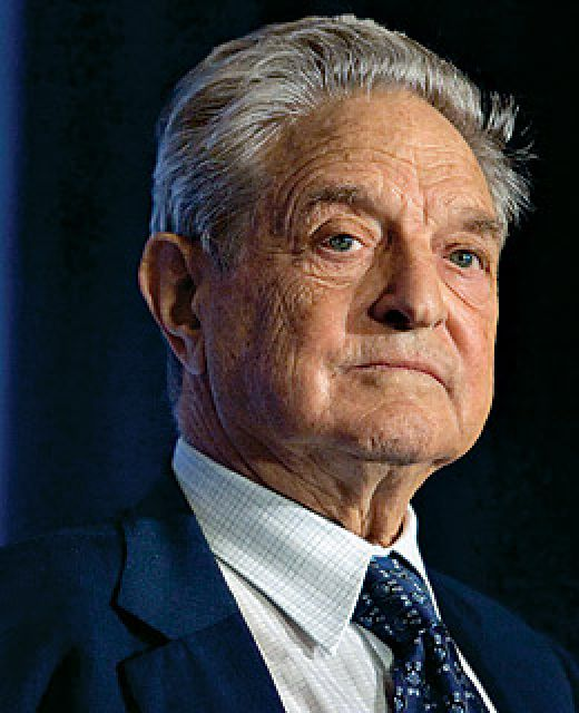 george soros family. tattoo George Soros