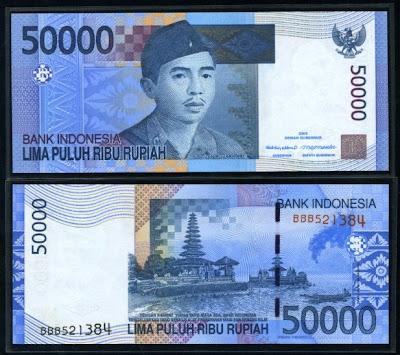 50.000 rupiah, I Gusti Ngurah Rai &
