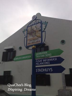 jonker walk, signboard