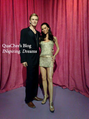 shanghai wax museum, david beckham, victoria