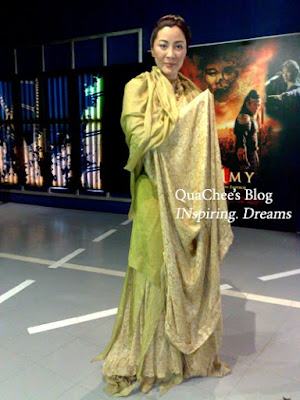 shanghai wax museum, michelle yeoh