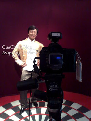 shanghai wax museum, jackie chan