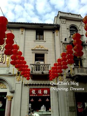 hangzhou, qinghefang road, lantern