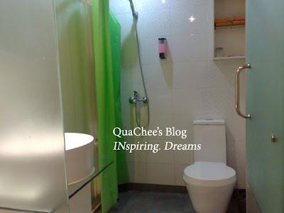 shanghai budget hotel, uhome inn, bathroom