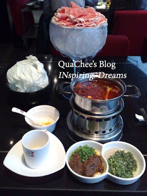 shanghai food, hot pot beef