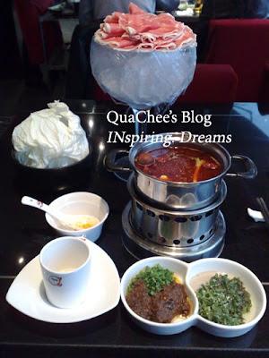 shanghai food, hot pot beef