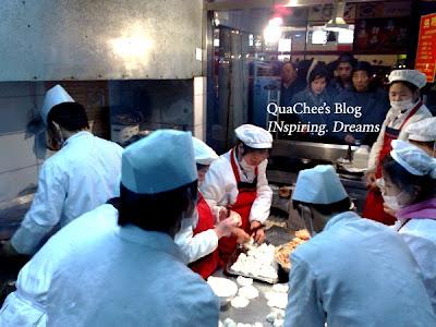 shanghai snack, wujiang road, dumpling