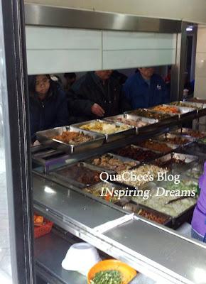 shanghai food, mixed rice