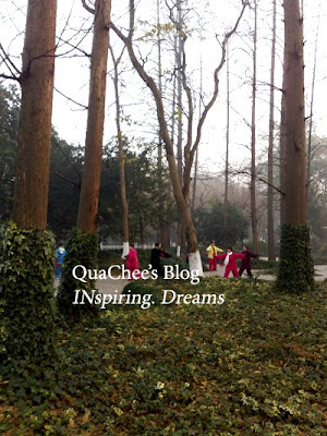 hangzhou, things to do, exercise park