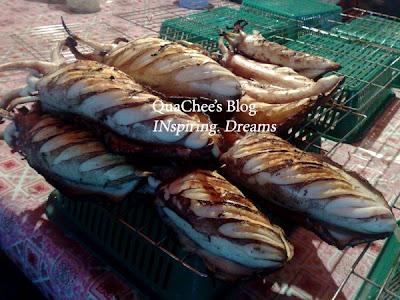kk waterfront market sotong