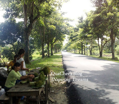 kuching kampung road