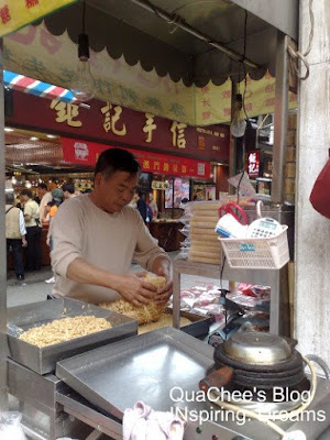 macau biscuit stall