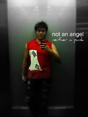 not an angel, neither a punk