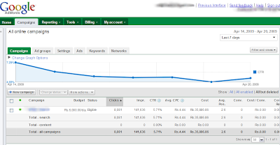 new google adwords interface (beta)