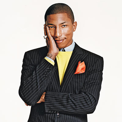 Fashion Clothing on Pharrell Williams   Evokes The Idea That Fashion Is About Art  Self