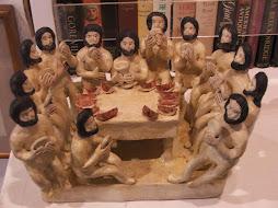 Ultima cena.Desnudos