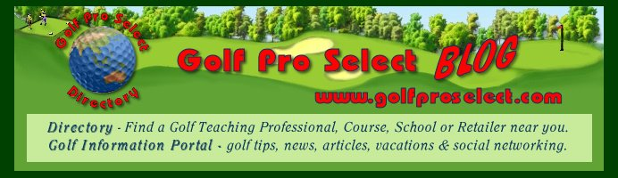 Golf Pro Select Blog