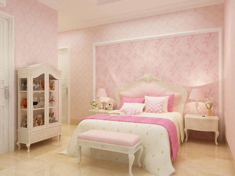 Kid Bedrooms Sets Heartens Little Girl With Feminine Bedrooms Sets Colour