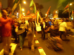 MARCHA DE PROTESTA EN RESPALDO AL PARO AMAZÓNICO