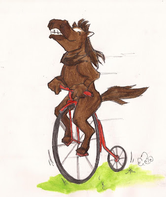 Carnet à inspirations *w* - Page 3 Horse%2Bwith%2Bhands%2Briding%2Ba%2Bbike%2B012611