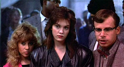 Diane Lane and Rick Moranis in Streets of Fire
