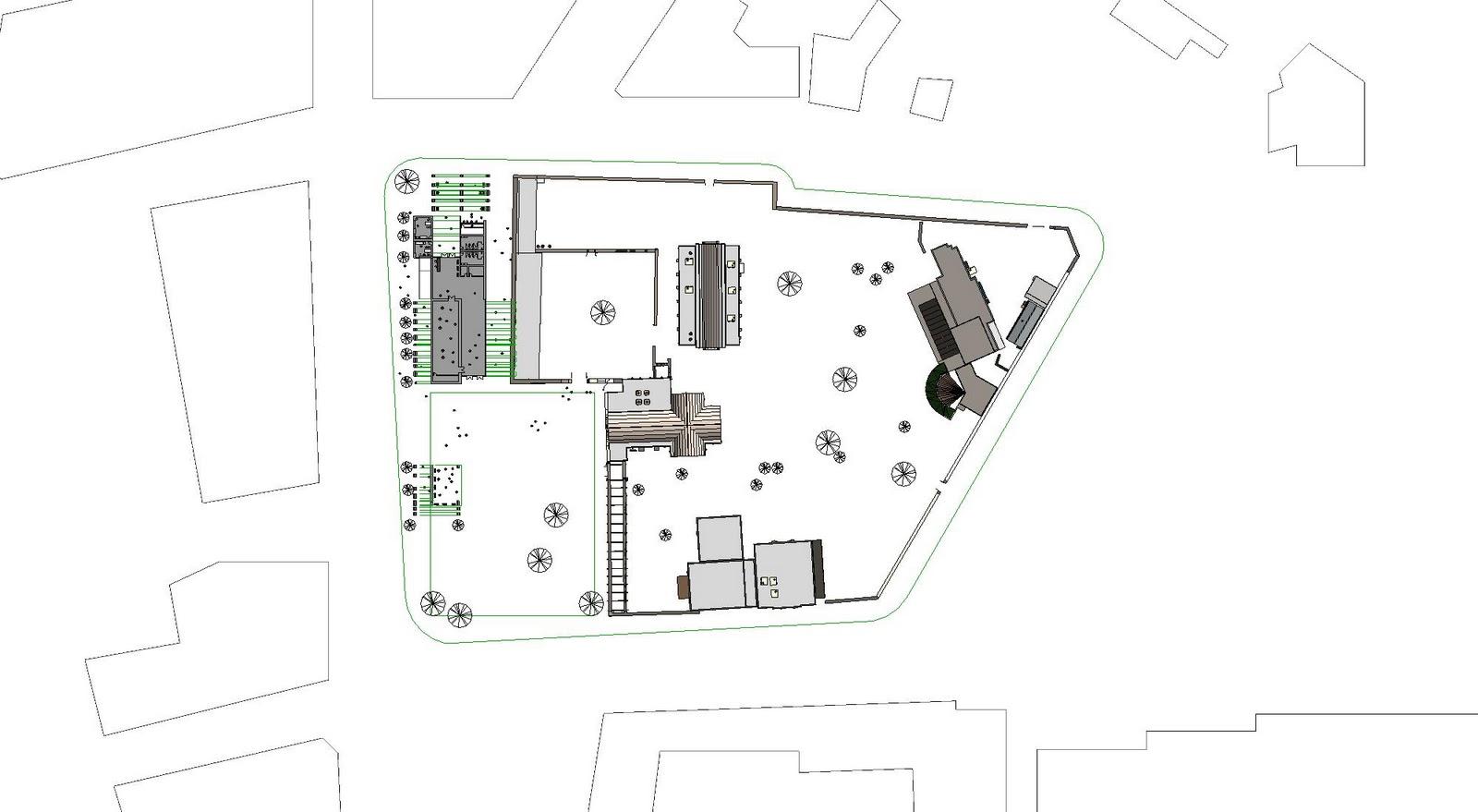 Site Plan Revit : Arch projects project alamo