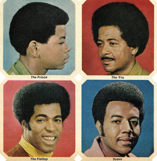 70's Ebony Hairstyles Names