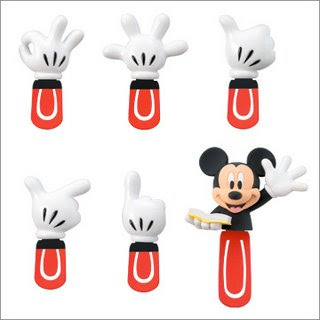 Mickey mouse hand signs