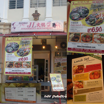 ... : Invited Review - JL Steamboat Restaurant @ Nagore Road, Penang