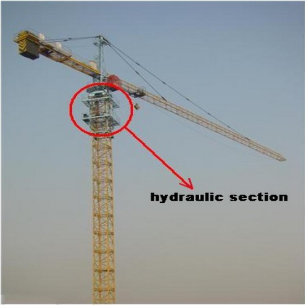 Tower Crane Self Assembly : Equipment all self erecting crane