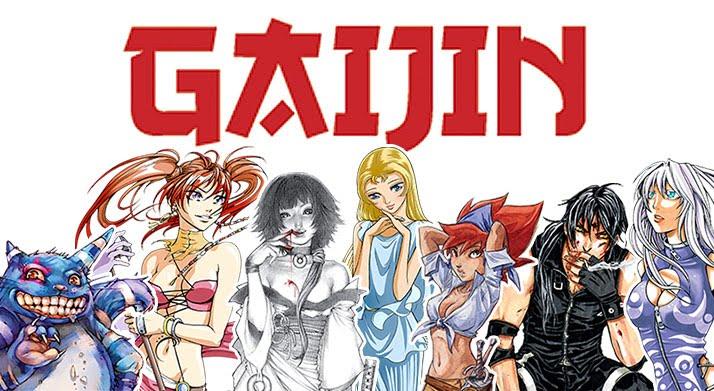Principalmente linea Gaijin -manga español-