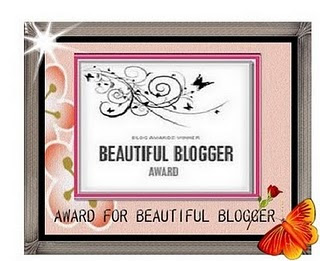 Award : Beautiful Blogger