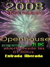 Fiesta Open' año nuevo.